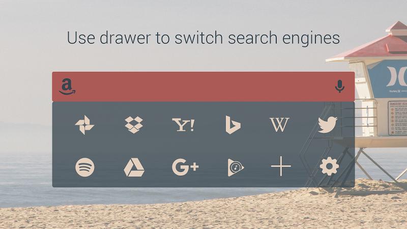 Custom Search Bar Widget CSBW Screenshot 5