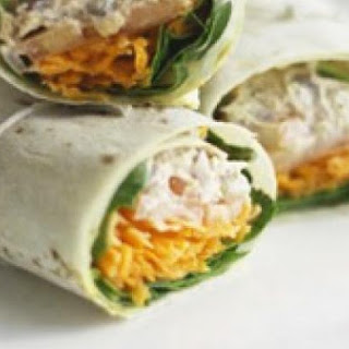 Tuna And Lemon Wrap