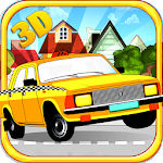 Real Taxi City Rush 3D