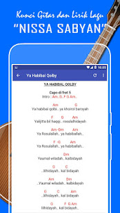 Kunci Gitar Sholawat Nariyah : kunci, gitar, sholawat, nariyah, Lirik, Nissa, Sabyan, Maulana