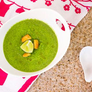 Creamy Green Gazpacho Soup Recipe