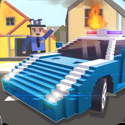 Mr. Blocky Emergency Car Craft (game)