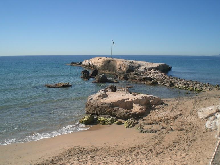 Pulpí, playa Pichirichi.