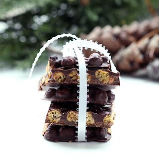 Chocolate Chickpea Bark (Gluten-Free, Vegan / Plant-Based, Refined Sugar-Free)