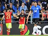 Mertens knalt Belgen voorbij stugge Esten met beresterke doelman