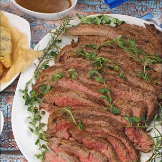 Argentine Style Marinated Flank Steak