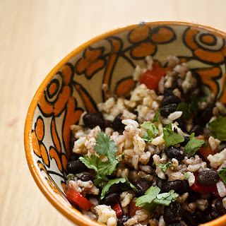 Black Bean and Rice Salad with (another) Citrus Vinaigrette