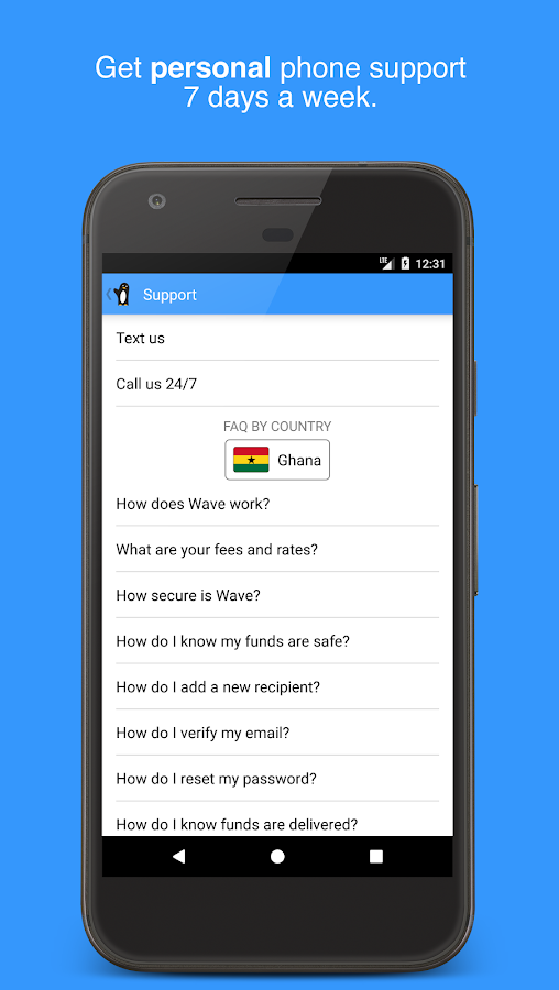 Wave—Send Money to Africa- screenshot