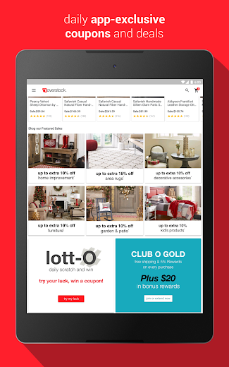 Screenshot 8 for Overstock.com's Android app'