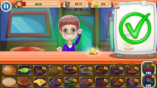 Télécharger gratuit Burger Game - Cooking Games APK MOD 2