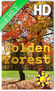 Golden Forest LWP v1.1