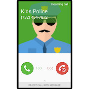 Fake Call Kids Police