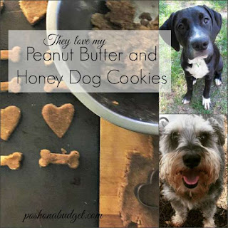 They love my Peanut Butter and Honey Cookies