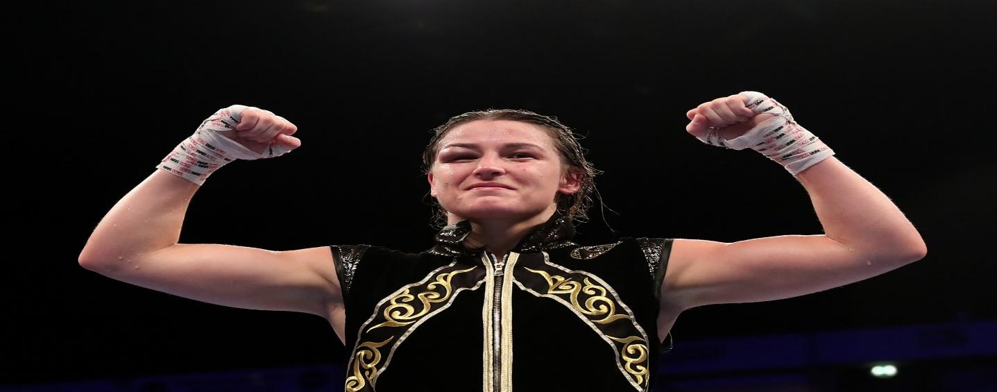 """I Am Ready for Whatever Comes in My Way""""- Katie Taylor Feels Ready for  Miriam Gutierrez - EssentiallySports"""