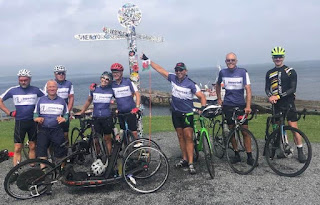 AMAZING: Team Paddison in John O'Groats