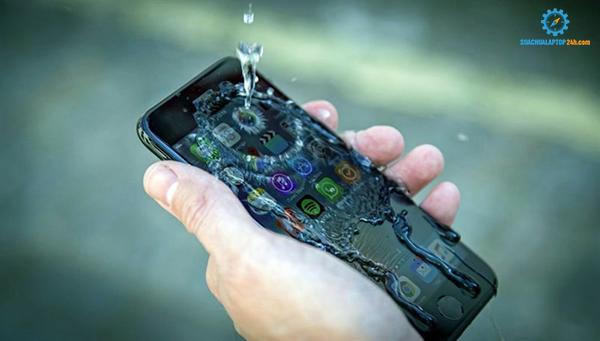 iPhone bị rơi vào nước