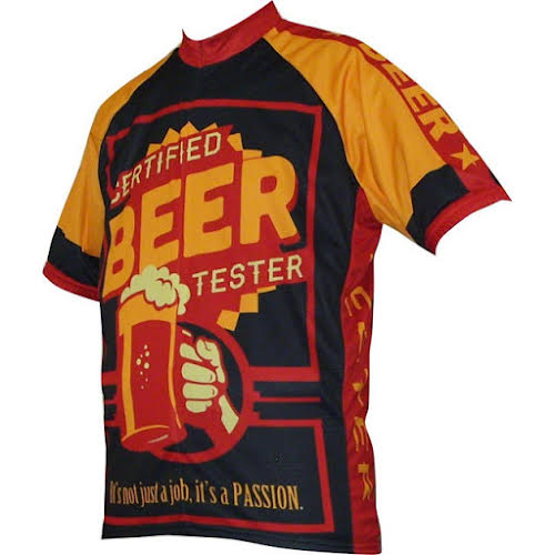 World Jerseys Beer Tester Men's Cycling Jersey