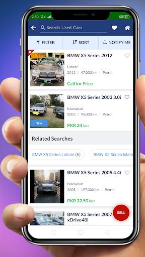 Used Cars in Pakistan 1.0.1 screenshots 3