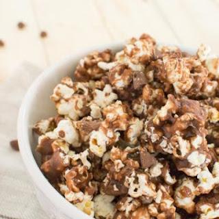 Peanut Butter Cup Caramel Corn