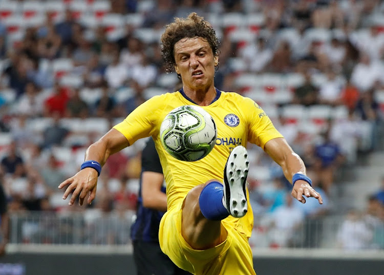 David Luiz. Picture: REUTERS