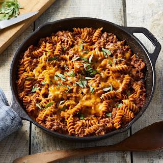 Rotini Pasta And Ground Beef Recipes.