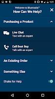 Screenshot of Best Buy