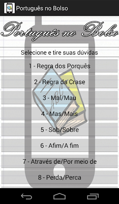 Português no Bolso - screenshot