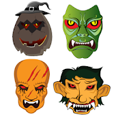 Halloween Stickers & Masks