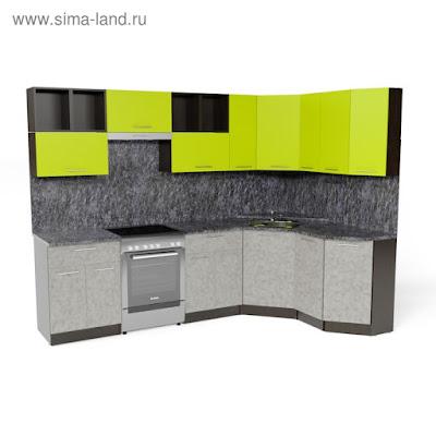 Кухонный гарнитур Анна оптима 5 2700*1600 мм