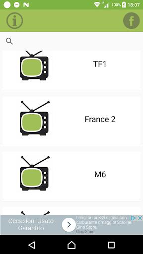 France TV info for satellite for PC