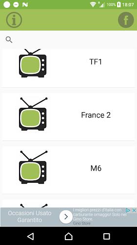 France TV info for satellite Android App Screenshot