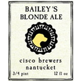 Logo of Cisco Brewers Bailey's Blonde Ale