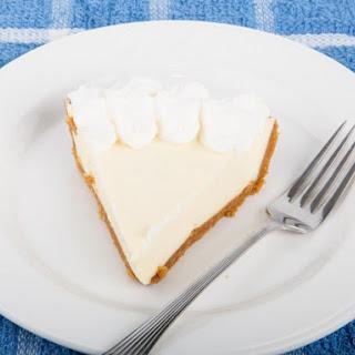 Cool 'n Easy Lemon Jello Pie.