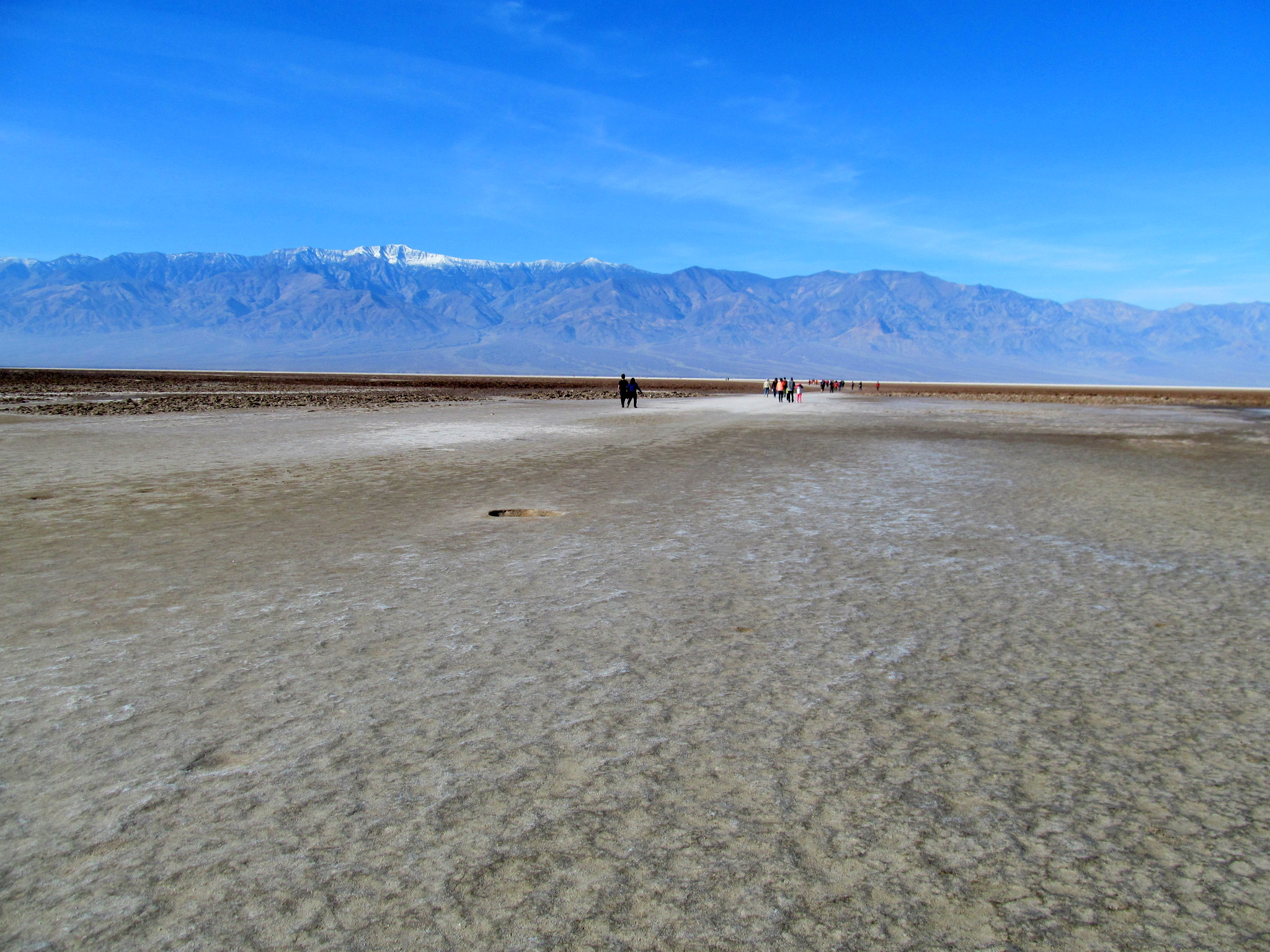 Photo: Hard-packed salt in Badwater Basin