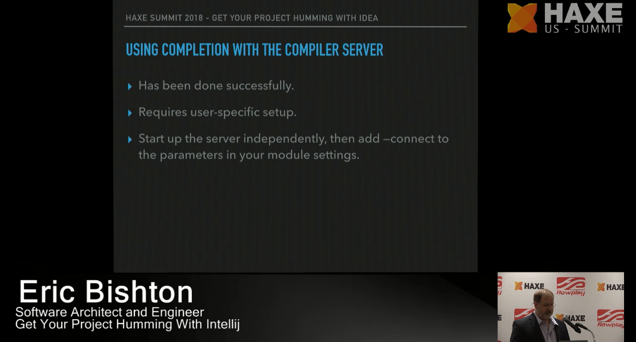 Using completion with the compiler server