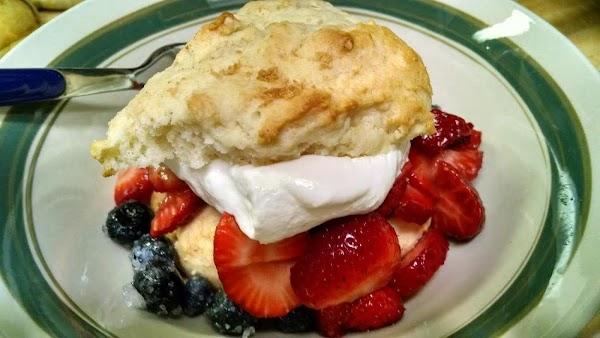 Blueberry-strawberry Shortcake Recipe