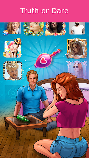 Kiss Kiss: Spin the Bottle for Chatting & Fun android2mod screenshots 4