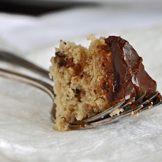 Buttermilk Banana Cake with Coffee-Chocolate Frosting