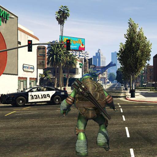 Your Turtle GTA Mods Run Ninja