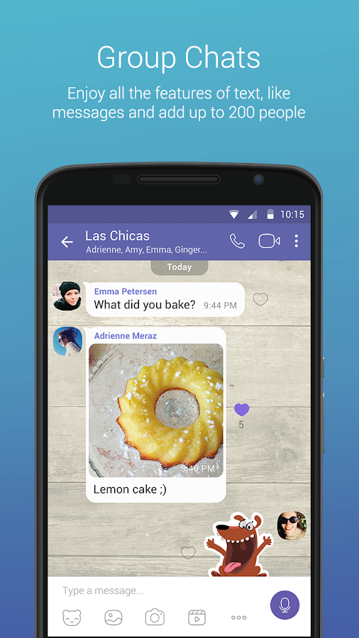 Viber – Capture d'écran