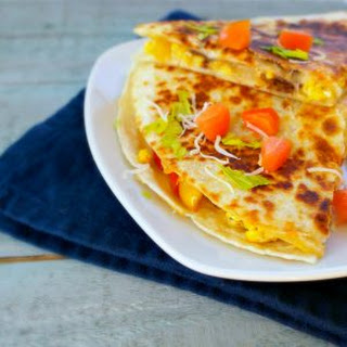 Breakfast Steak Quesadilla.