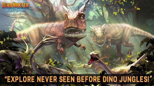 DINO HUNTER: DEADLY SHORES MOD Apk (Unlimited Money) 5