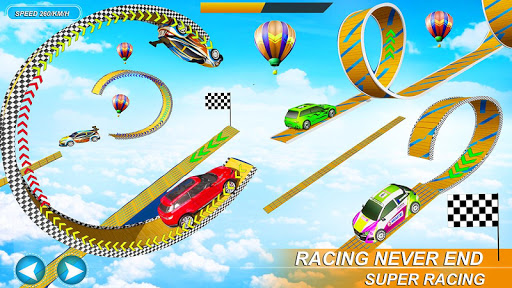 Impossible Stunt Space Car Racing 2019 1.14 screenshots 9