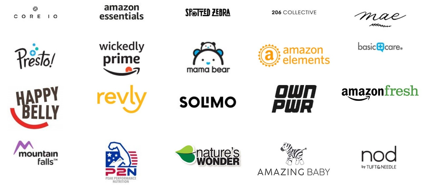 An overview of Amazon's private label brands