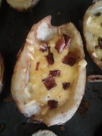 Death By Potato Skins Recipe