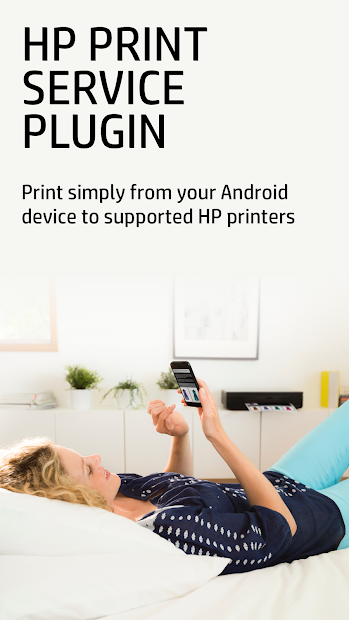 HP Print Service Plugin Android App Screenshot