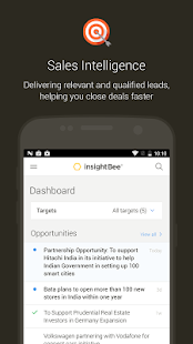 InsightBee- screenshot thumbnail