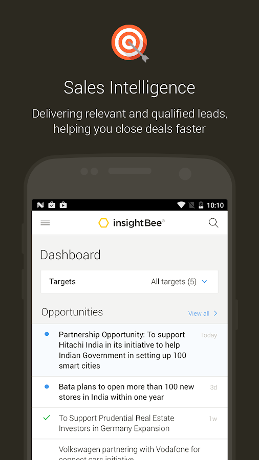 InsightBee- screenshot