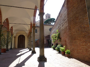 Photo: back to Siena at St. Caterina Sanctuary