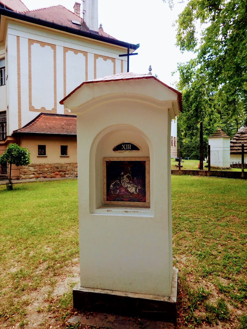 Balassagyarmat - stációs kálvária a Palóc ligetben